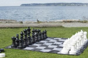 Giant Chess Checkers