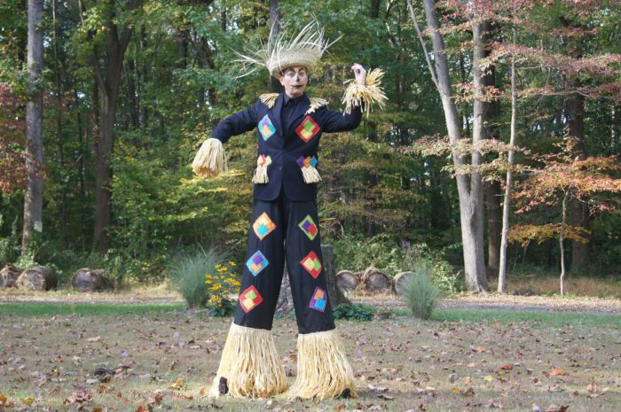 Scarecrow Stilt Walker